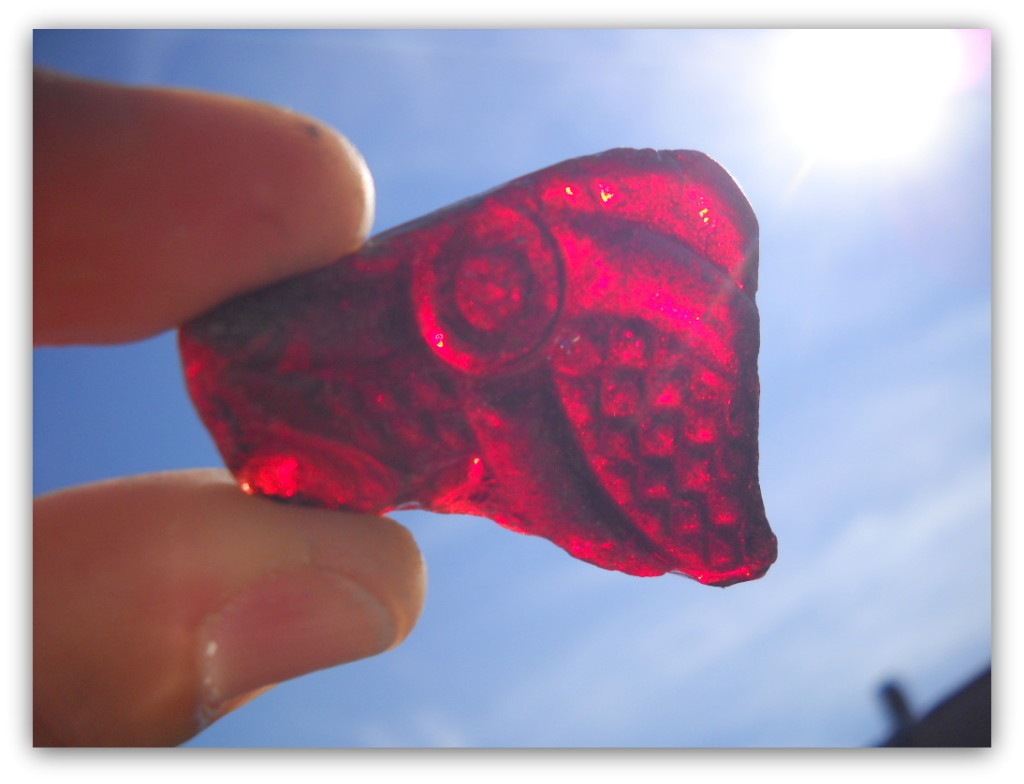 Rare Red Sea Glass Jewelry Valentines Day Gifts For